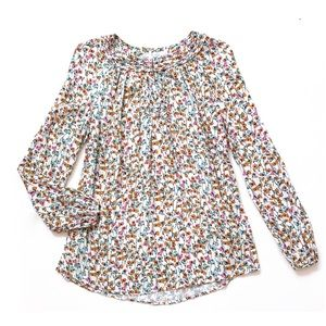 Boden Brondesbury Top Pink Melody Floral